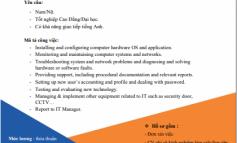 SHTP tuyển dụng