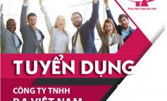 Tuyển dụng - Công ty TNHH P.A Việt Nam