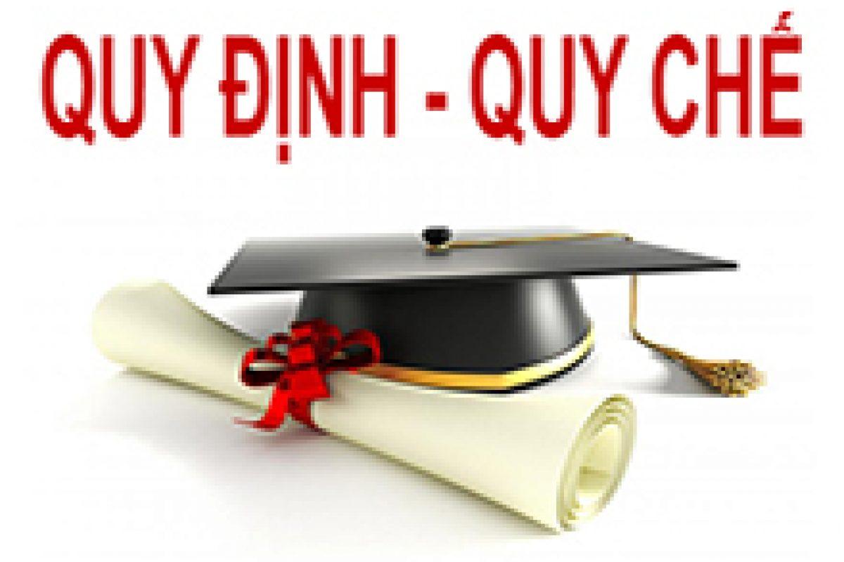 QĐ số 108/QĐ-ĐHCNTT ngày 15 tháng 03 năm 2019_V/v sửa đổi, bổ sung quyết định 141/QĐ-ĐHCNTT quy định về học ngoại ngữ