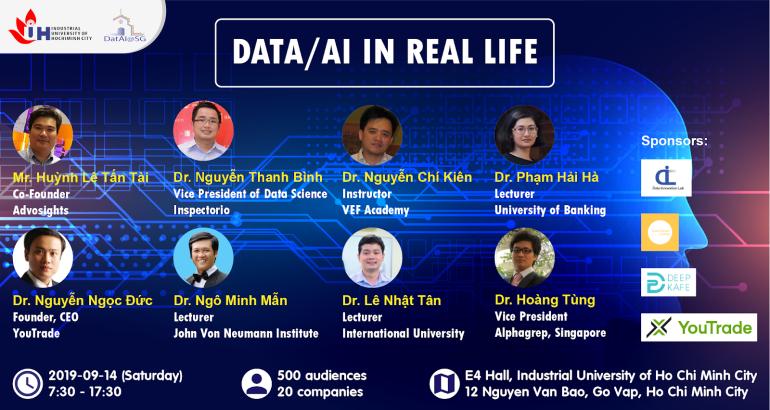 SỰ KIỆN CÔNG NGHỆ: DATA/AI IN REAL LIFE