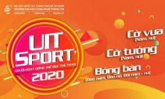 Thông báo V/v tổ chức các hoạt động Thể dục Thể thao sinh viên Học kỳ 2 năm học 2019-2020