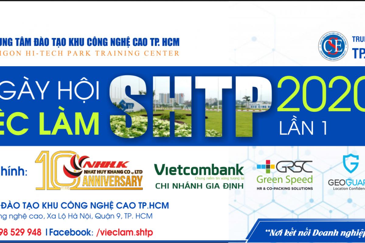 Ngày hội Việc làm Khu Công nghệ cao Lần 1 - Năm 2020