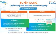 Công Ty TMA - Tuyển dụng/Tuyển Thực tập sinh khoá 32