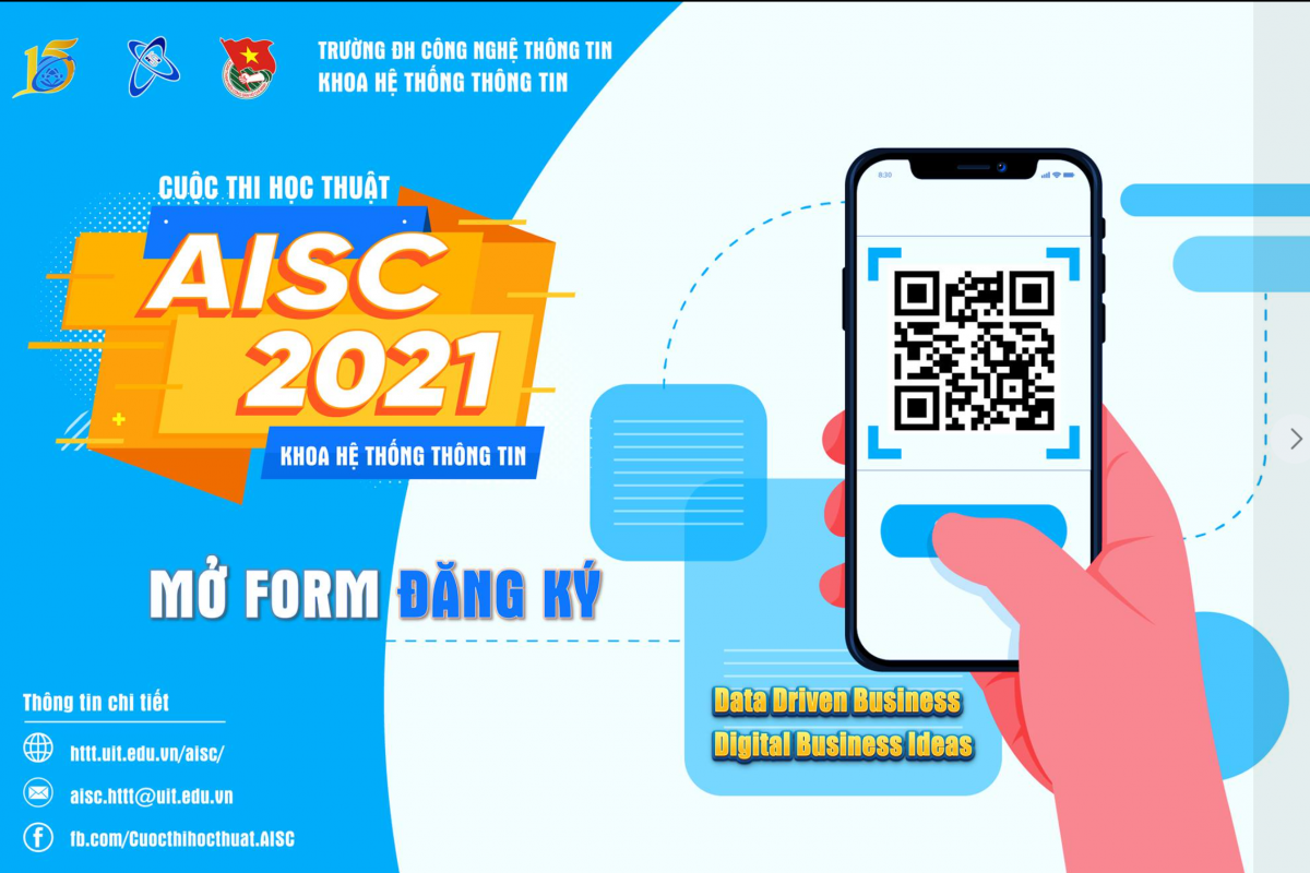THÔNG BÁO CUỘC THI – AISC 2021 (Advanced Information Systems Contest)