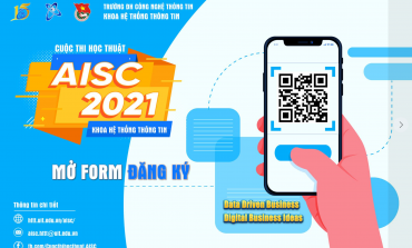 THÔNG BÁO CUỘC THI - AISC 2021 (Advanced Information Systems Contest)