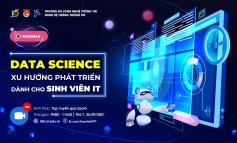 Webinar: DATA SCIENCE - Xu hướng phát triển dành cho Sinh viên IT