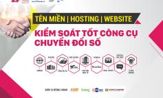 Seminar: Tên miền – hosting – website kiểm soát tốt công cụ chuyển đổi số