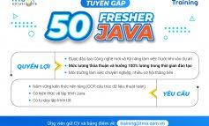 TUYỂN DỤNG: 50 Fresher Java