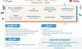 Tuyển dụng thực tập tại TMA Solutions (Khóa 34)